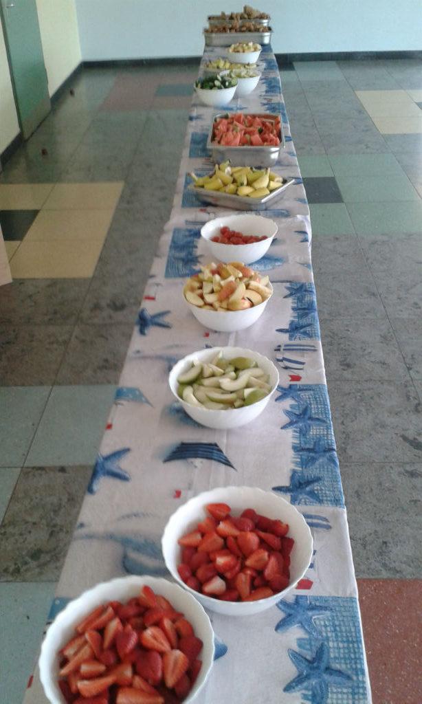 Gesundes Frühstück Grundschule Klint