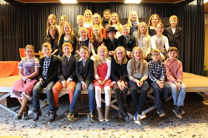 Musical-Ag 2015 Schule der Träume