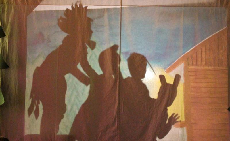 Schattenspiel Die bremer Stadtmusikanten