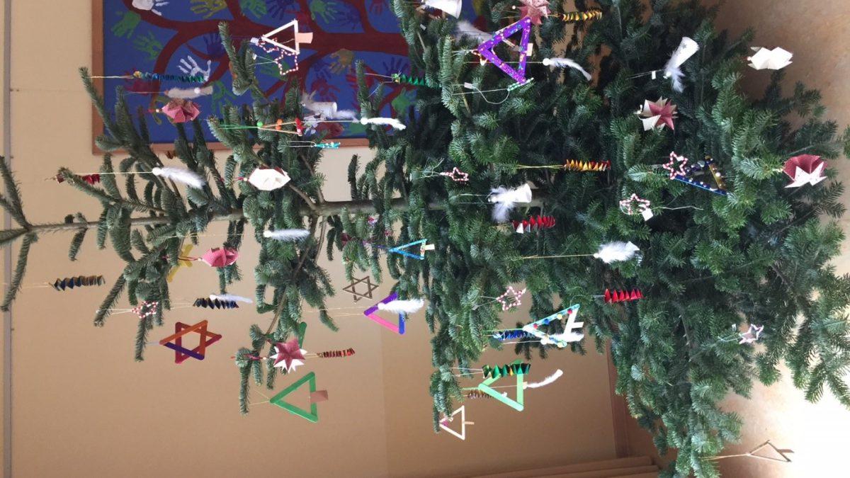 Weihnachtsbasteln Grundschule.Weihnachtsbasteln Baum Grundschule Warmsen