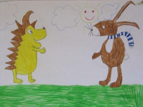 Grundschule igel geschichte Tiergeschichten Grundschule