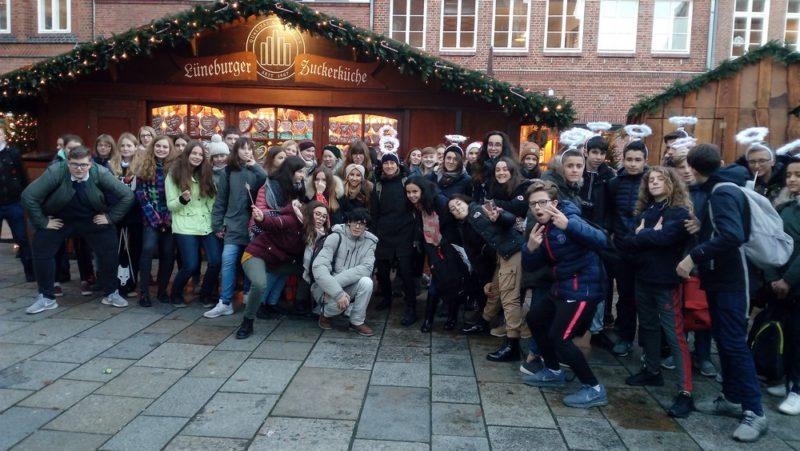 Die Auterive-Schüleraustauschgruppe besuchte Lüneburg