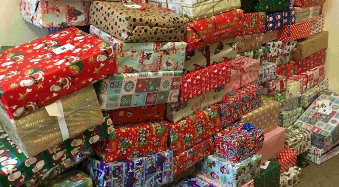 Weihnachtspäckchenkonvoi  – Weihnachten im Schuhkarton 2018