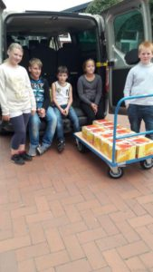 Transport in die Schule