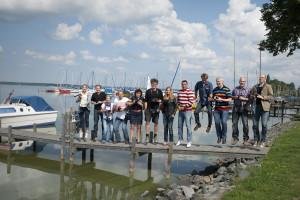 Gruppenbild der Teilnehmer Foto: Michael Löwa