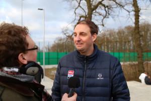 Interview mit einem Sportjournalisten