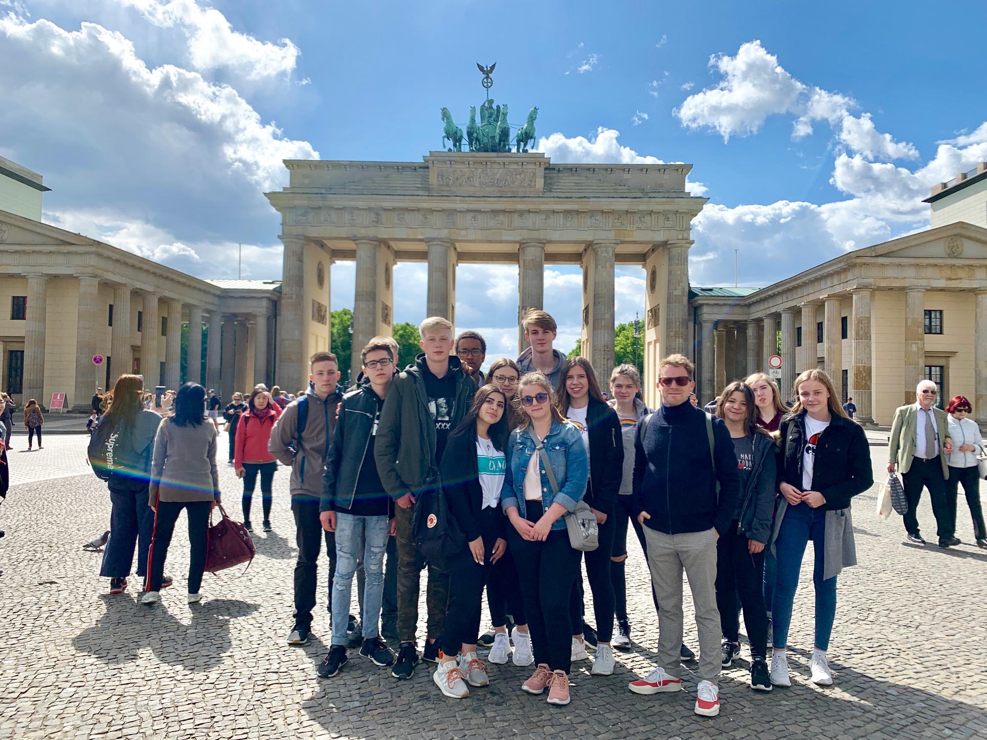Studienfahrt der Klasse 9b nach Berlin