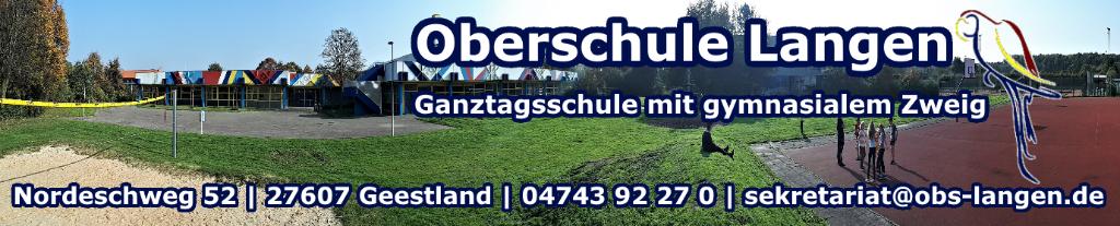 Offizielle Website der Oberschule Langen