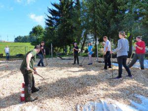Kletterbogen Pflanzen : August 2016 regenbogenschule waake