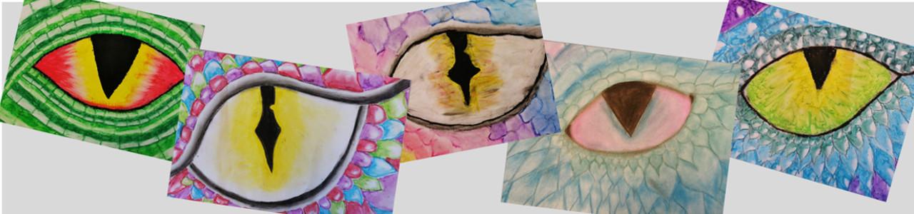 Kunstwerke des Monats – Drachenaugen