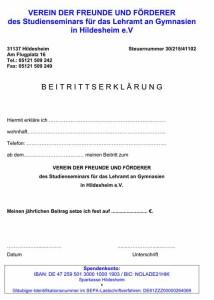 Studienseminar_Hildesheim_Beitrittserklaerung_Foerderverein