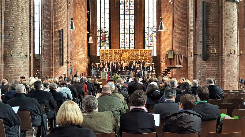 Chorauftritt Marktkirche